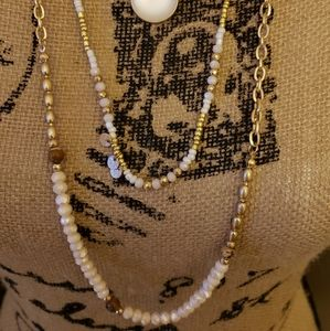 torrid Jewelry - NWT GOLD-TONE BEADED LAYERED NECKLACE